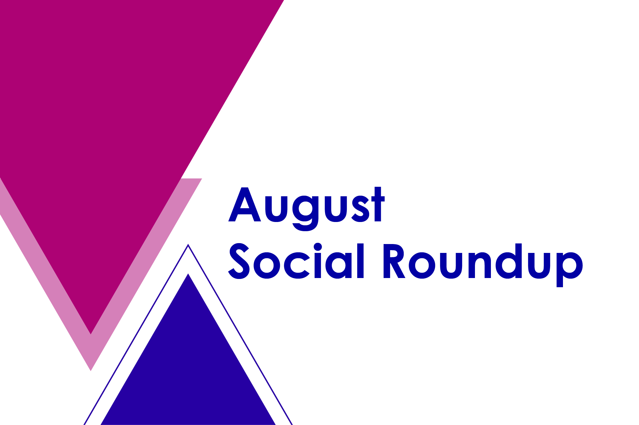 Aug social roundup feature